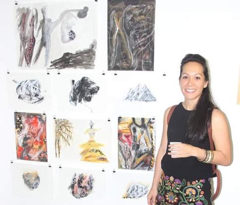 Alumna: Virginie Vanneste, seleccion de la obra realizada por ella durante los años 2017 y 2018