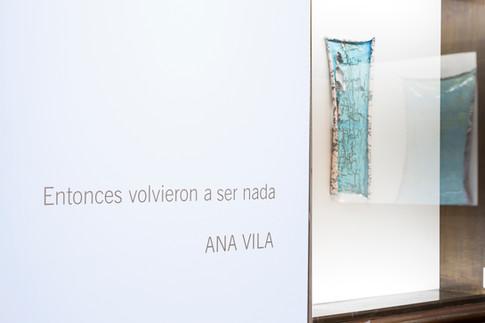 """""""Entonces volvieron a ser nada"""", Museo del Banco Provincia, 2019.."""
