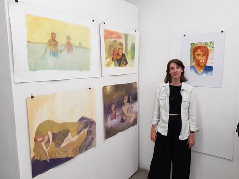 Alumna: Martina Mondino Seleccion de toda su obra realizada durante el año 2017 y 2018