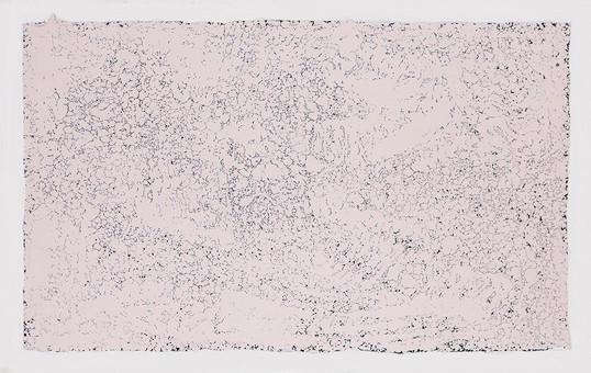 penelope III, 2018, 188 x 114 cm, esmalte sobre tela
