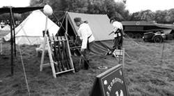 Preparing Camp at Pickering