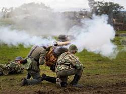 Panzershrek team fires at YWE