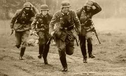 Grenadiers run forward at Pickering