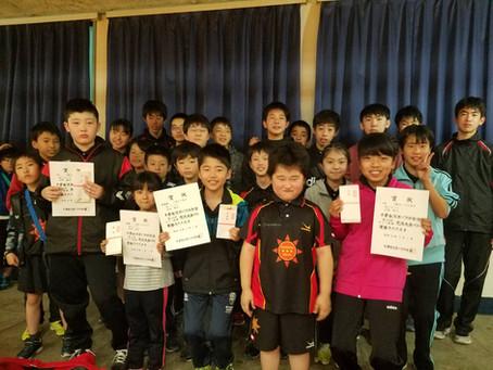 第10回千葉市スポーツ少年団オープン卓球交流大会