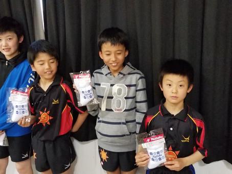 第37回全国ホープス卓球大会千葉県予選会