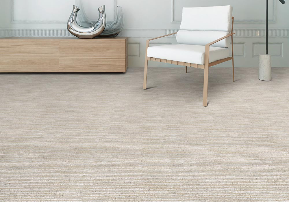 Stainmaster Pet Protect patterned carpet in a living room