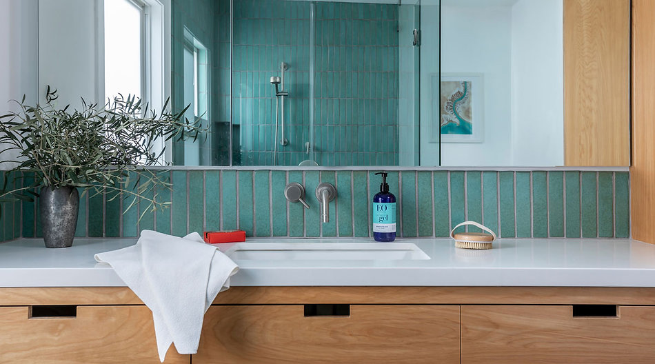 Arto Oxford Square Bathroom Oleson Aqua
