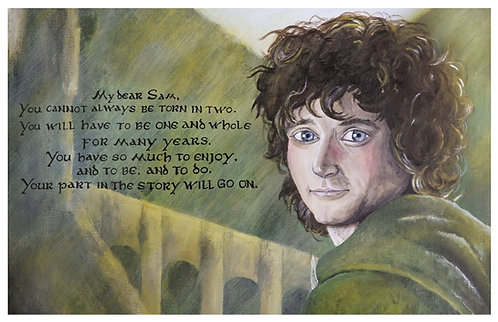 Frodo Baggins Acrylic Art Print   |   Lord of the Rings