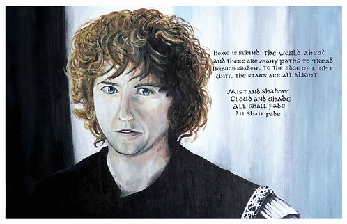 Pippin Acrylic Art Print   |   Lord of the Rings