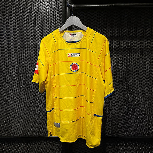 Lotto -  2004/07 Colombia Home Jersey (L)