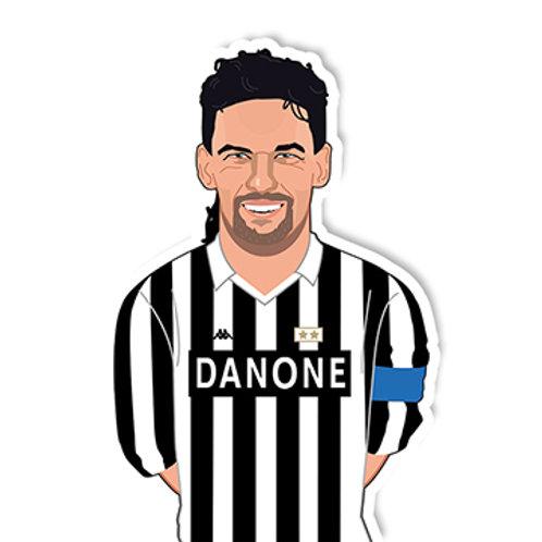 Baggio Sticker - Jamie Orrell
