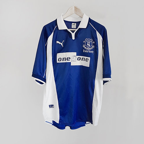 Puma - 2000/02 Everton Home Jersey