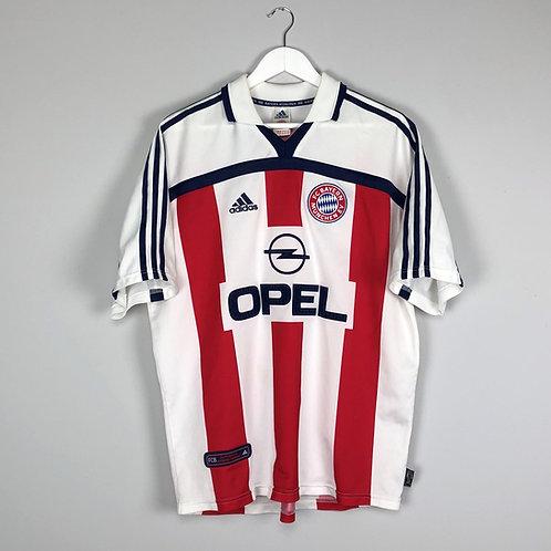 Adidas - 2000/01 Bayern Munich Away Jersey