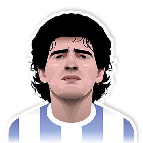 Maradona Sticker - Skull Club Co