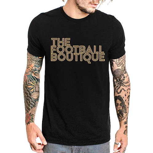 The Football Boutique Tee - Black and Gold