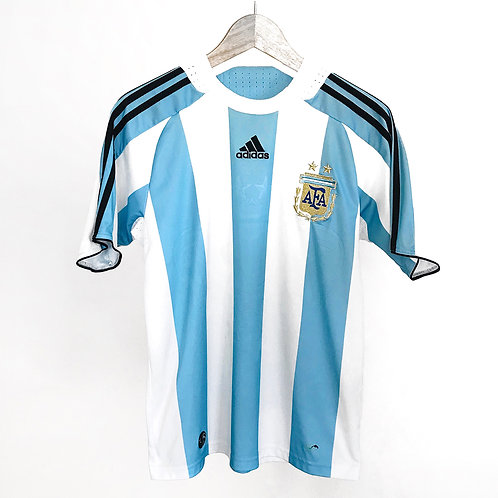 Adidas - 2009/10 Argentina Home Jersey