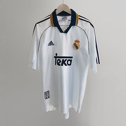 Adidas - 1998/00 Real Madrid Home Jersey