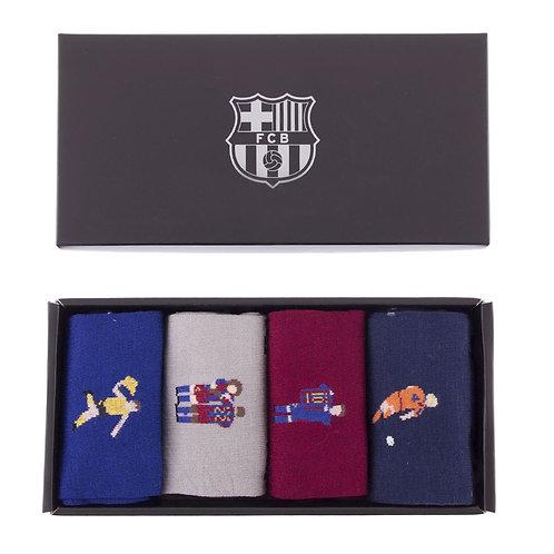 COPA - FC Barcelona Casual Socks Box Set