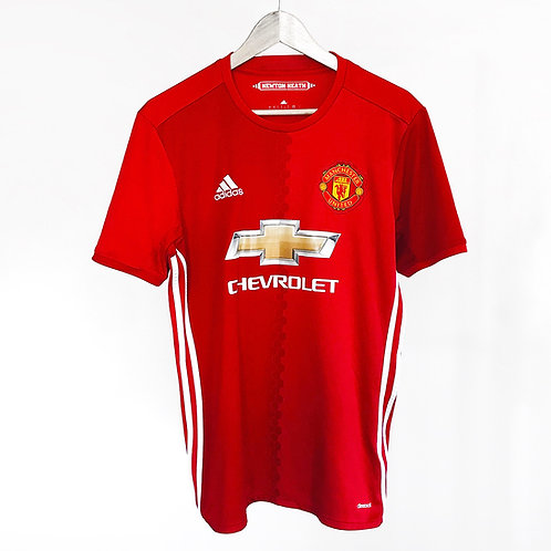 Adidas - 2016/17Manchester United Home Jersey