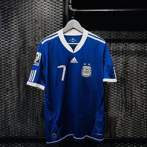 Adidas - 2010 Argentina Away Di Maria Jersey