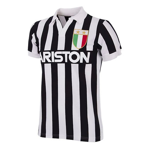 COPA - Juventus FC 1984 - 85 Retro Football Shirt