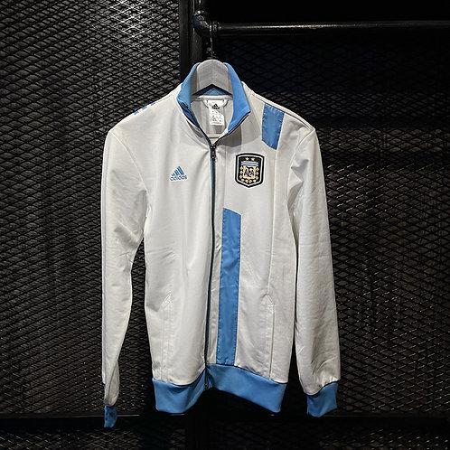 Adidas - Argentina White and Light Blue Jacket (XS)