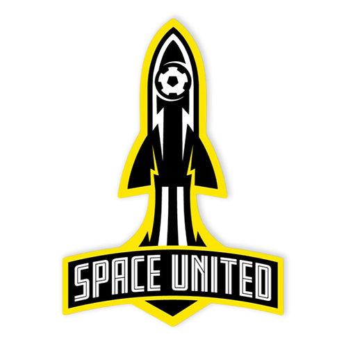 Space United - Rocket Launch Sticker