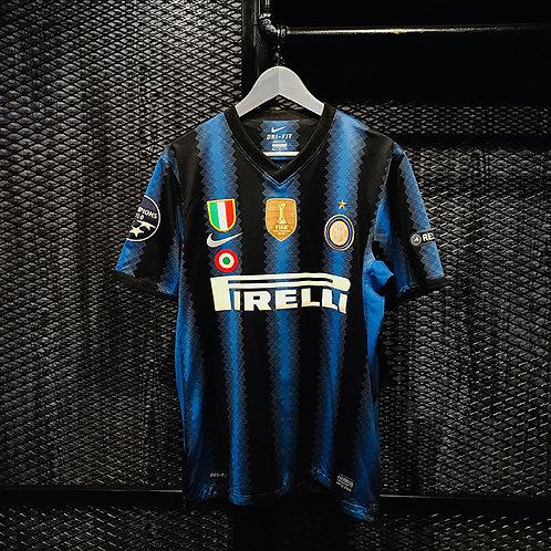 Nike - 2010/11 Inter Zanetti Home Jersey