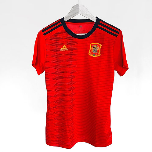 Adidas - 2019 Spain Womens Home Jersey