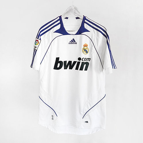 Adidas - 2007/08 Real Madrid Home Jersey
