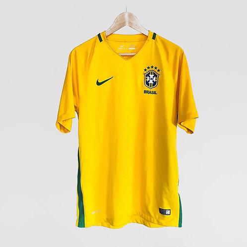 Nike - 2016/17 Brazil Home Jersey