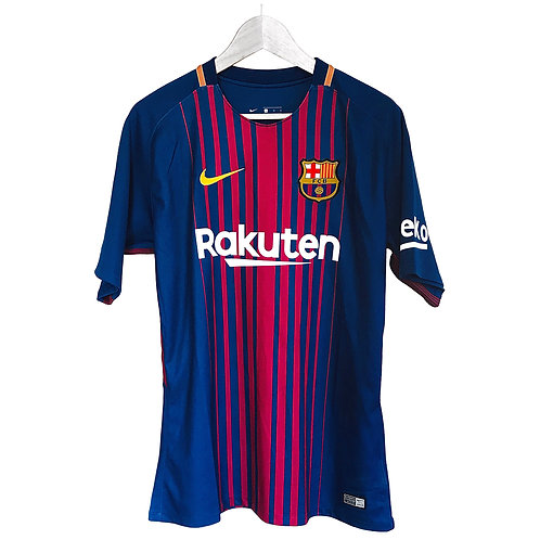 Nike - 2017/18 Barcelona Messi Home Jersey