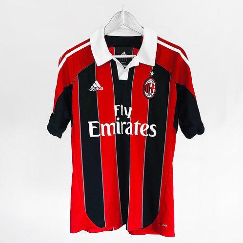 Adidas - 2012/13 AC Milan Balotelli Home Jersey