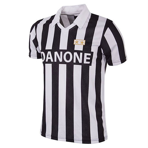 COPA - Juventus FC 1992 - 93 Coppa UEFA Retro Football Shirt