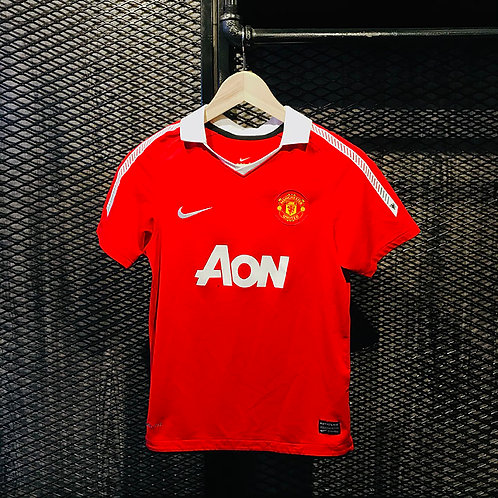 Nike - 2010/11 Manchester United Home Jersey (YM)