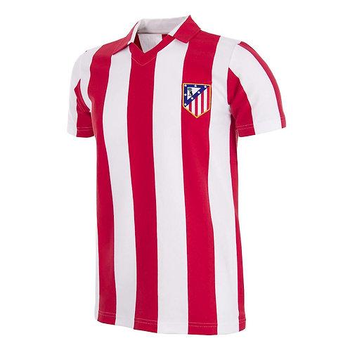 COPA - Atletico de Madrid 1985 - 86 Retro Football Shirt