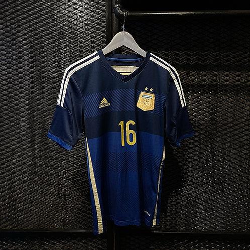 Adidas - 2014/15 Argentina Away AgueroJersey