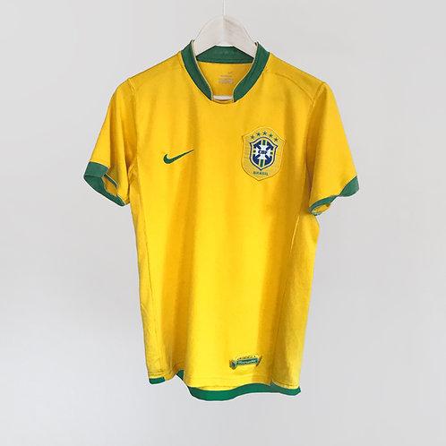 Nike - 2006/07 Brazil Home Jersey