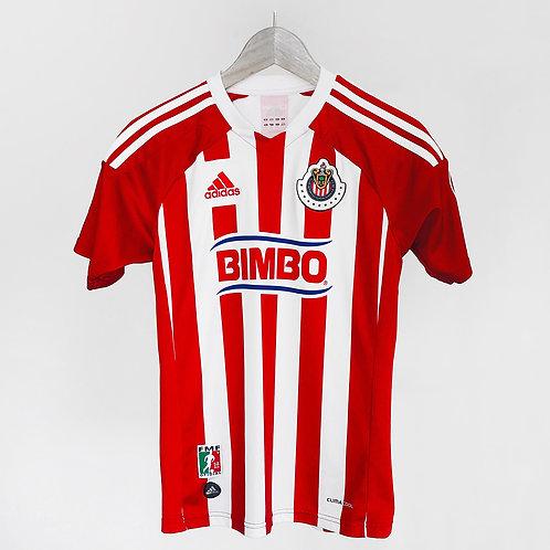 Adidas -  2011/12 Chivas Guadalajara Home Jersey (YL)