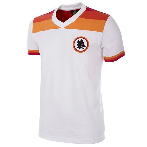 COPA - AS Roma 1978 - 79 Away Retro Football Shirt