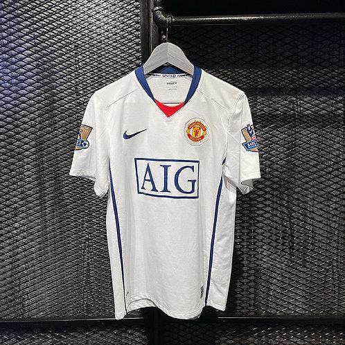 Nike - 2008/09 Manchester United Ronaldo Away Jersey