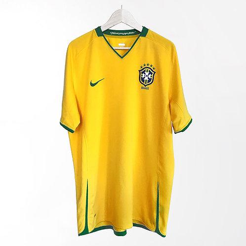 Nike - 2007/08 Brazil Home Jersey