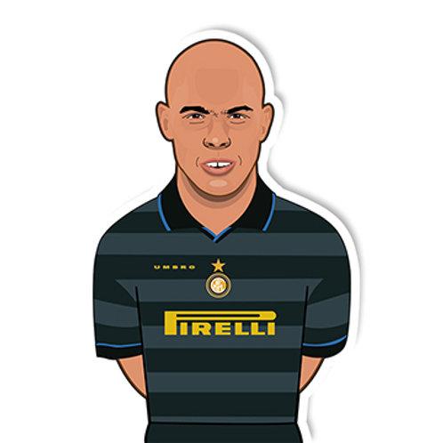 Ronaldo Fenômeno Sticker - Jamie Orrell