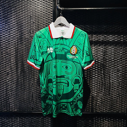 ABA Sport - 1998 Mexico Home Jersey