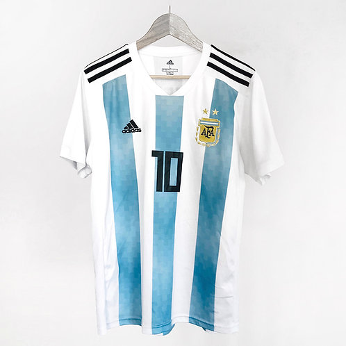 Adidas - 2018/19 Argentina Home Messi Jersey