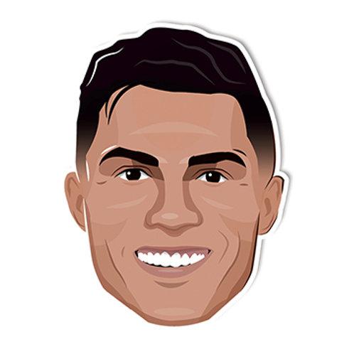 Cristiano Ronaldo Sticker - Jamie Orrell