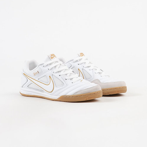 Nike SB Gato White Metallic Gold