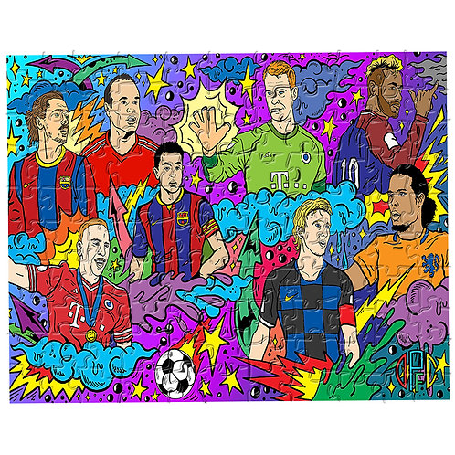 Dirty Pitch FC - Ballon d'Or Multiverse Puzzle