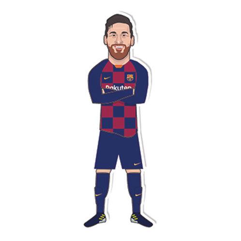 Messi Sticker - Jamie Orrell