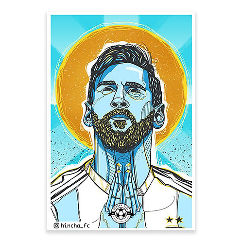Hincha FC - Messi D10S Sticker